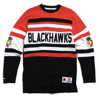 Chicago Blackhawks Open Net Longsleeve Red / Black
