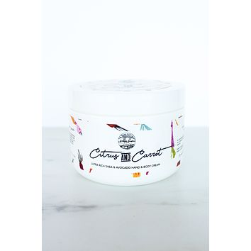 Citrus & Carrot - Shea & Avocado Body Cream