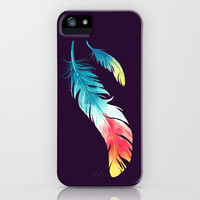 Feather iPhone & iPod Case by Freeminds