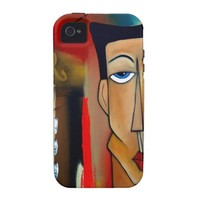 merger-abstract art iPhone 4/4S cover