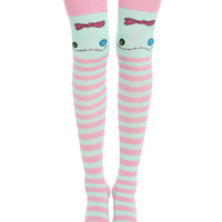 Disney Lilo & Stitch Stripe Scrump Over-The-Knee Socks