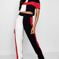 Isla Athleisure Colourblock Jogger Set | Boohoo