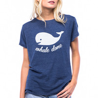 Whale Done Loose Tee