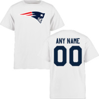 Youth New England Patriots Design-Your-Own Short Sleeve T-Shirt