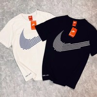 NIKE Hot letters print T-shirt top