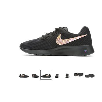 Nike Tanjun Crystal Shoes -Black