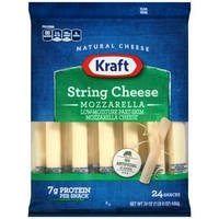 Kraft Mozzarella String Cheese, 24 count, 24 oz - Walmart.com