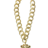 MEDUSA THICK CHAIN NECKLACE