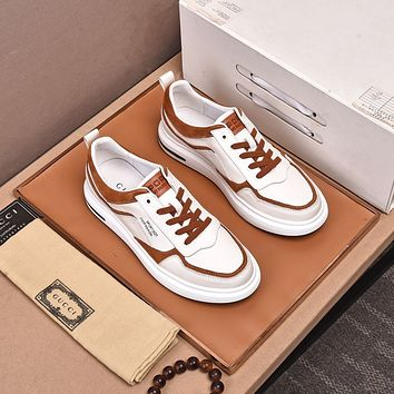 Gucci 2021Men Fashion Boots fashionable Casual leather Breathable Sneakers Running Shoes10160wk