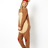 ASOS Rudolph Christmas Onesuit