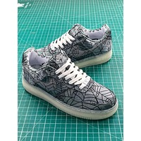 Clot X Nike Air Force 1 Hydro Dipped Sport Shoes