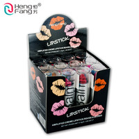 12Colors/Set 12 Colors Lipstick Easy to Wear Lips Cosmetic 3.5gx12 New Brand Profession Makeup HengFang #H113-1