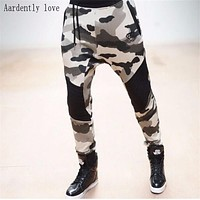2016 new Gold Medal Fitness pants, stretch cotton mens fitness pants body engineers Jogger Slim-type