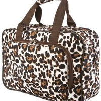 World Traveler Brown Animal Overnight Travel Bag 15-inch