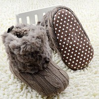 Winter Warm First Walkers Newborn Snow Booties - 7 Colors