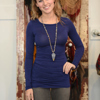 A Cinch On The Side Tunic