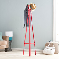 The Easel Coat Rack in Red
