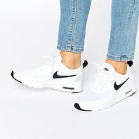 Nike Air Max Thea Trainers In White And Black at asos.com