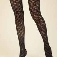 Refined Recognition Tights | Mod Retro Vintage Tights | ModCloth.com