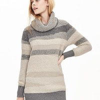 Banana Republic Womens Intarsia Turtleneck Tunic