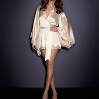 View All Nightwear by Agent Provocateur - Abbey Kimono