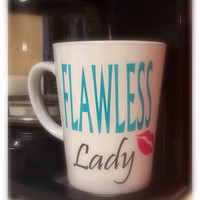 Flawless Lady personalized mug