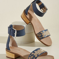Midday Marvelous Leather Sandal