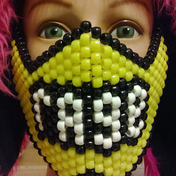RAGE Kandi Mask (Blacklight reactive)