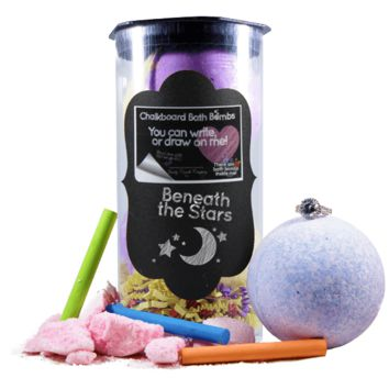 Beneath The Stars | Jewelry Chalkboard Bath Bombs
