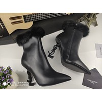 YSL  Women Casual Shoes Boots fashionable casual leather12