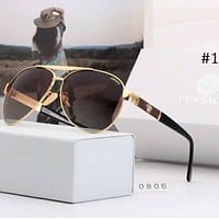 Versace 2018 new trend sunglasses men's personality polarized lenses driving sunglasses F-A-SDYJ #1