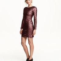 H&M Sequined Dress $69.99