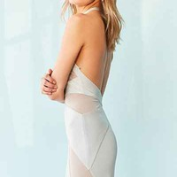 Silence + Noise Electra Mesh Maxi Dress - Urban Outfitters