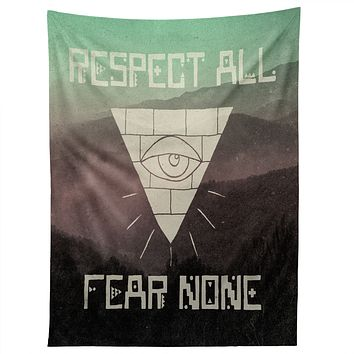 Wesley Bird Fear None Tapestry