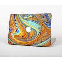 """The Colorful Wet Paint Mixture Skin Set for the Apple MacBook Pro 15"""" with Retina Display"""