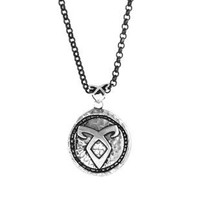 The Mortal Instruments : City of Bones 925 Silver Angelic Power Rune Pendant By Amyn The Jeweler