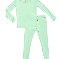 Mint 2 Piece PJ Set by Kyte Baby