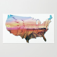 It's California Country Area & Throw Rug by DuckyB (Brandi)