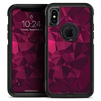 Pink and Red Geometric Triangles - Skin Kit for the iPhone OtterBox Cases