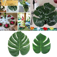 12 Artificial Palm Leaf Tropical Palm Leaves