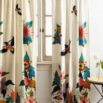 Rebecca Rebouche Soaring Starlings Curtain in Multi Size: