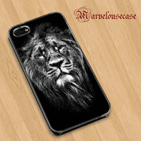 Male Asiatic Lion custom case for all phone case