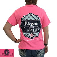 SALE Southern Couture Blessed With Grandkids Grandma Nana T-Shirt