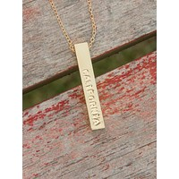 4 sided California Love Affair Necklace
