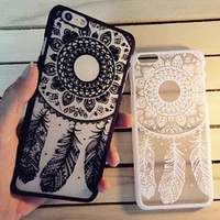 Lace Dream Catcher iPhone X 8 7 Plus & iPhone 6s 6 Plus Case Cover + Free Gift Box