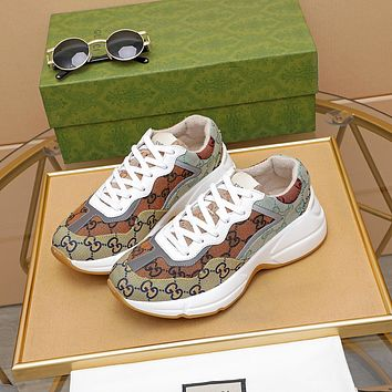 Gucci2021 Woman's Men's 2020 New Fashion Casual Shoes Sneaker Sport Running Shoes0512gh