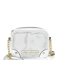 Sophia Perforated Leather Crossbody