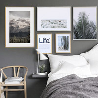 Wall Pictures For Living Room Life Cuadros Modern Posters And Prints Wall Art Canvas Painting Nordic Decoration No Poster Frame