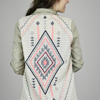 Native Gal Army-Style Jacket