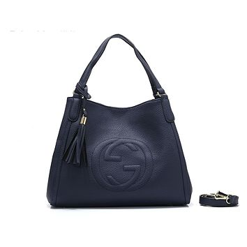 GUCCI hot seller of women's casual shoulder bag and fashionable double G shopping bag #3